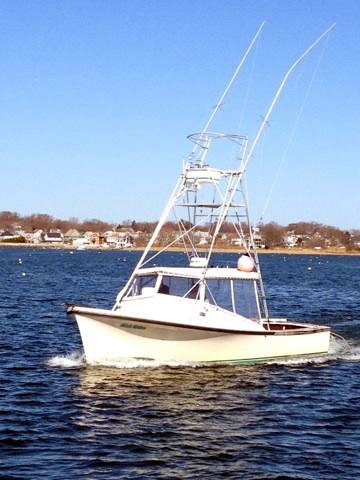 Fish Tales - Boston Fishing Charter Boat